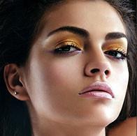 Metallic Makeup Look