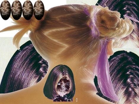 Zig Zag Hair Style