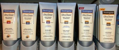 Neutrogena Ultra Sheer Sun Protection