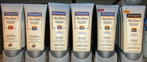 Neutrogena Ultra Sheer Sun Protection