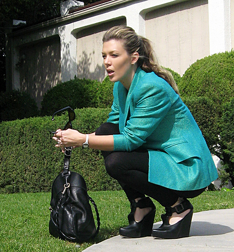 Teal Pop Blazer