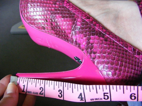 Length of heel